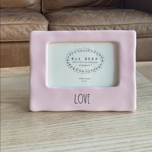 Rae Dunn Love picture frame